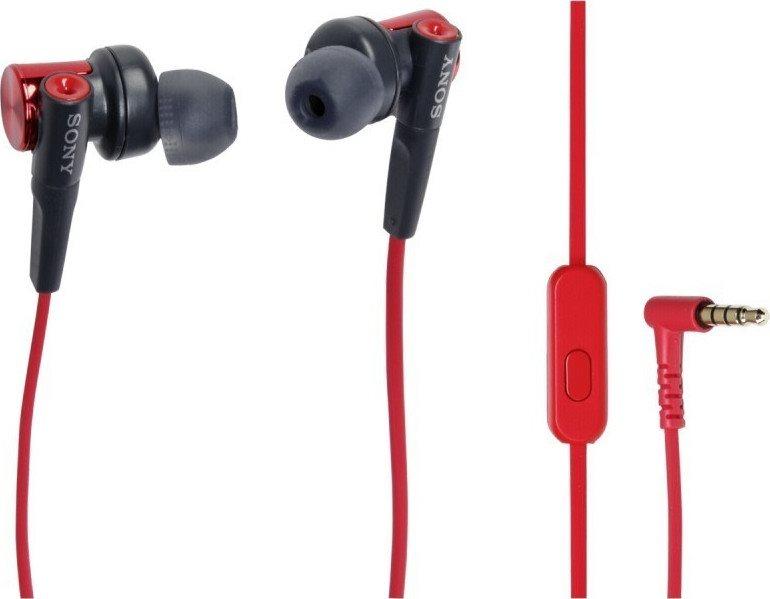 Sony In-ear Handsfree MDR-XB50AP Red
