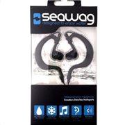 Αδιάβροχα ακουστικά της Seawag, με μικρόφωνο, μαύρα