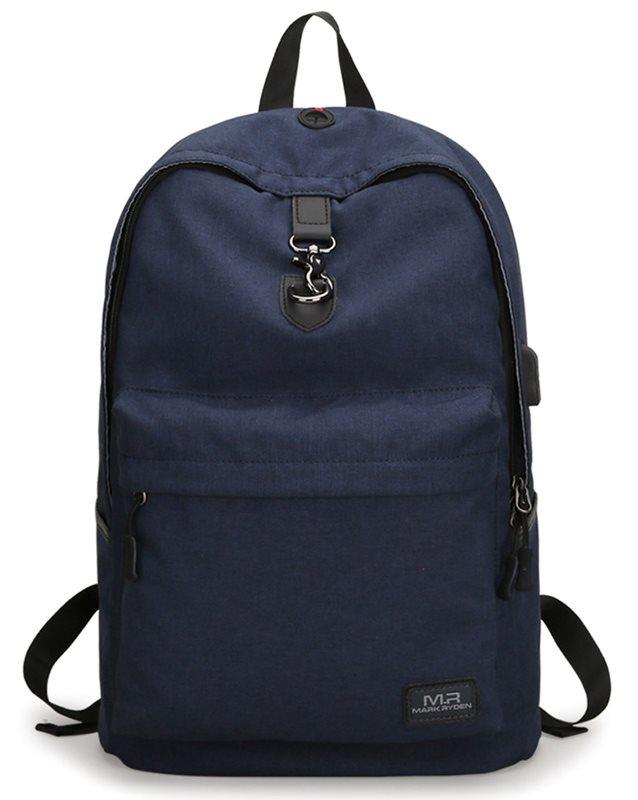 "MARK RYDEN τσάντα πλάτης MR5968 με θήκη laptop 15.6"" 20L μπλε"