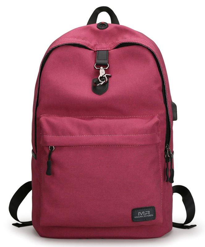 "MARK RYDEN τσάντα πλάτης MR5968 με θήκη laptop 15.6"" 20L κόκκινη"