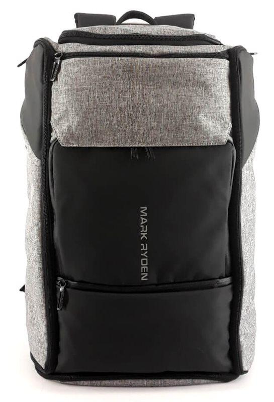 "MARK RYDEN τσάντα πλάτης MR6888 με θήκη laptop 17.3"" 25L γκρι"