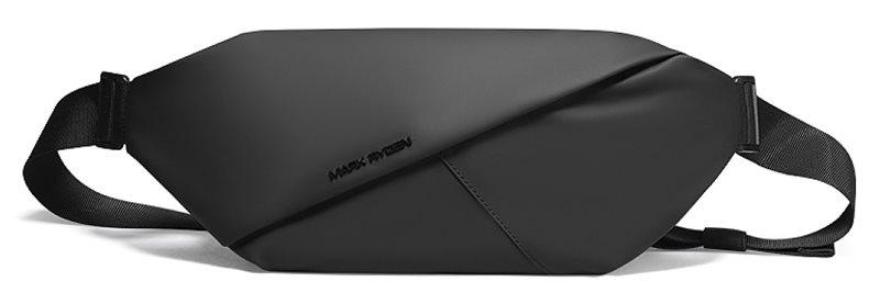 MARK RYDEN τσάντα μέσης MR7786 αδιάβροχη 3.7L μαύρη