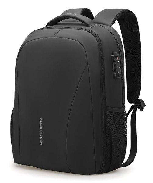 "MARK RYDEN τσάντα πλάτης MR9380 θήκη laptop 15.6"" λουκέτο TSA μαύρη"