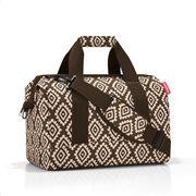 Reisenthel τσάντα ταξιδίου allrounder M σειρά Diamonds Mocha