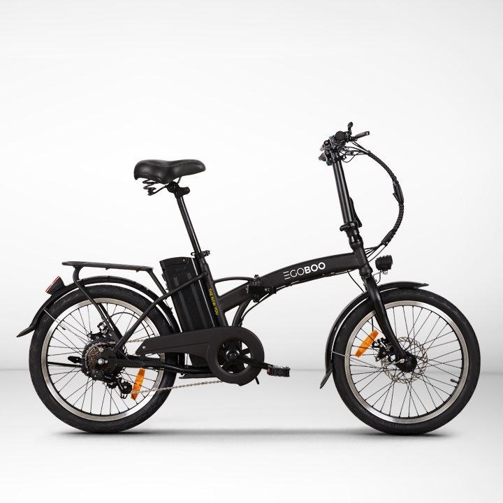EGOBOO E-Bike E-Fold – Μαύρο