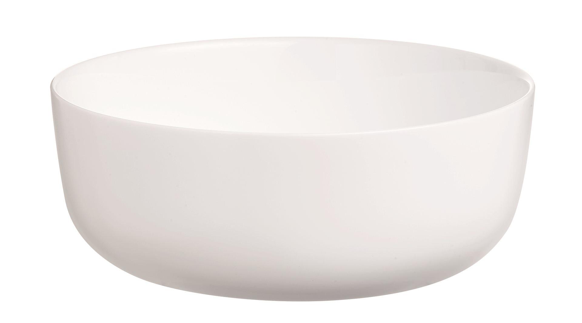 LUMINARC Πυρίμαχο Σκεύος Πορσελάνης 18εκ., 1Lt. Λευκό Diwali - N2945