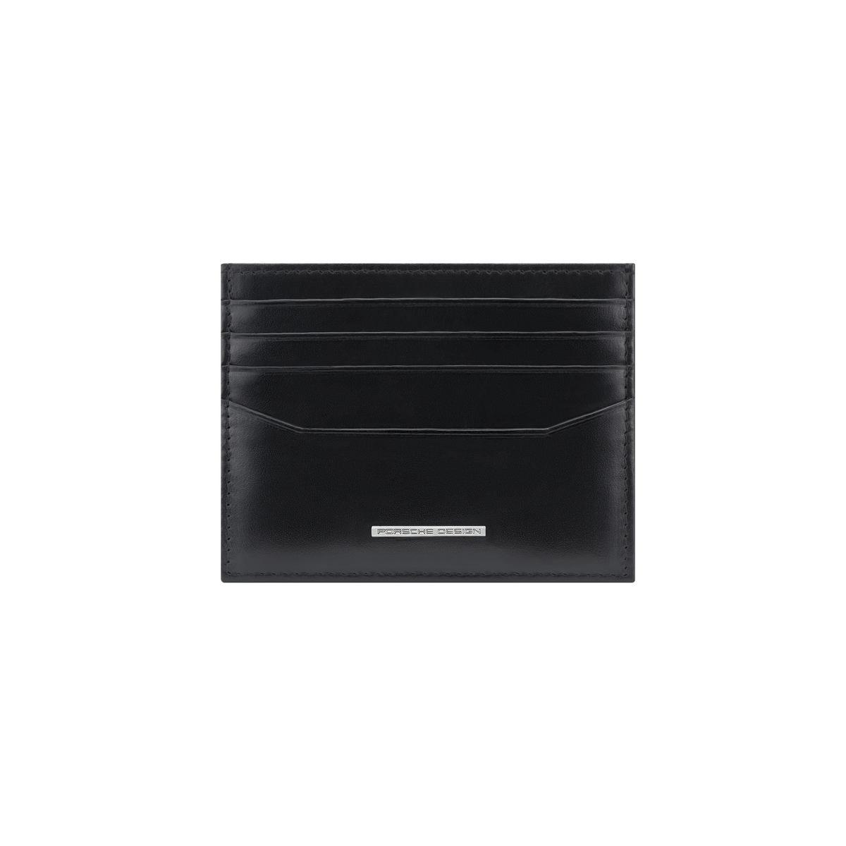 Porsche Design πορτοφόλι για κάρτες δερμάτινο ανδρικό 10x7.8cm σειρά Classic Cardholder 8 Black