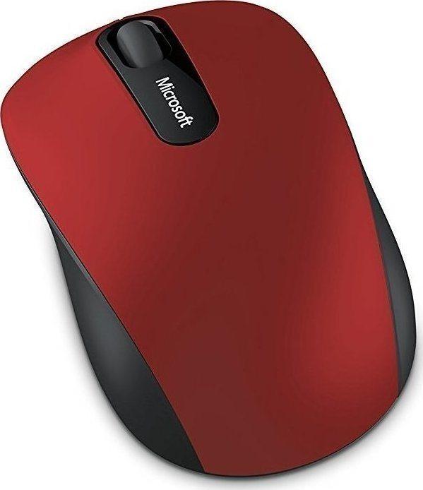 Micosoft Ασύρματο Ποντίκι 3600 Dark Red