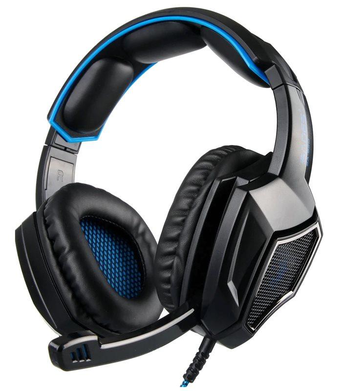 SADES gaming headset SA-920 Plus 3.5mm 40mm μπλε