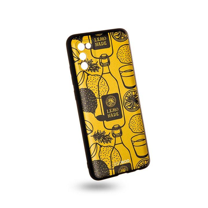 EGOBOO Case Mat TPU Lemonade (Samsung A02s)