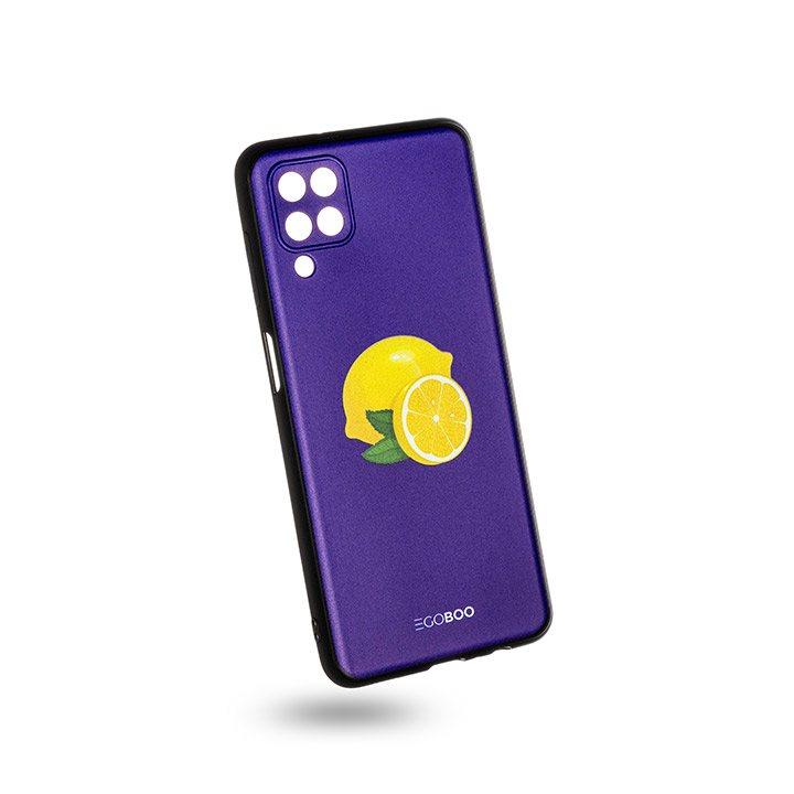EGOBOO Case Mat TPU Royal Lemons (Samsung A12)