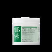 Nip+Fab ντεμακιγιάζ KALE FIX MAKE UP REMOVING PADS 60 TEM 80ml