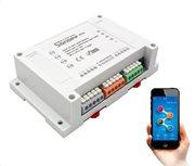 SONOFF Smart Διακόπτης WiFi 4CH R2 4 θέσεων 10A WiFi λευκό