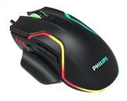 PHILIPS gaming ποντίκι SPK9525 ενσύρματο 2400DPI 8 πλήκτρα μαύρο