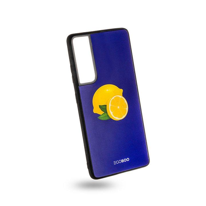 EGOBOO Case Glass TPU Royal Lemons (Samsung S21 Ultra)