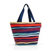 Reisenthel τσάντα ώμου σειρά Shopper M Artist Stripes