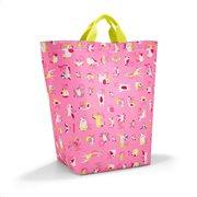 Reisenthel τσάντα αποθήκευσης 50.5x44x22.5cm Kids ABC Friends Pink