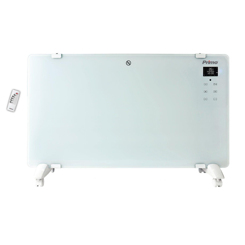Primo Θερμοπομπός 2000W Γυαλί PRPH-81026 Λευκό