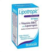 Health Aid Lipotropics with B+C 60 tabs