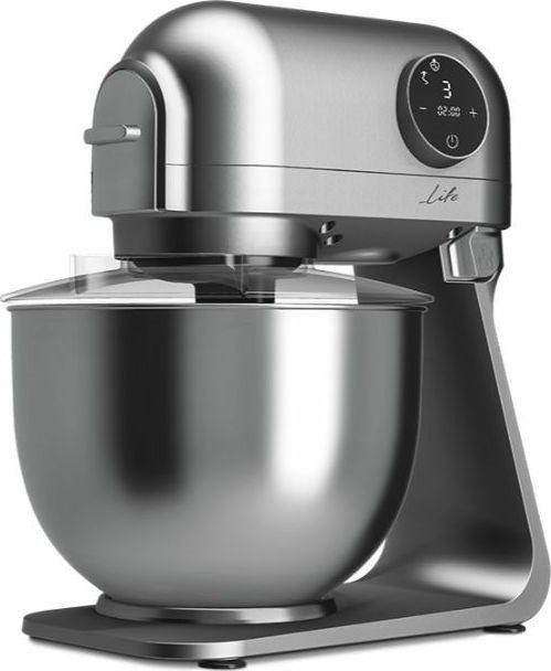 Life Κουζινομηχανή 1200W με Ανοξείδωτο Κάδο 5lt Iconic Premium Design AC Μοτέρ 6 Ταχύτητες και 4 Εξαρτήματα