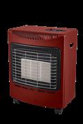Coral Gas Σόμπα Υγραερίου Smart Thermo 4200W Κόκκινη