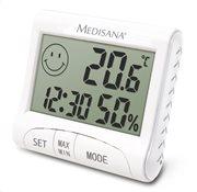 Medisana Θερμόμετρο & Υγρόμετρο Επιτραπέζιο Εσωτερικού Χώρου Επιτοίχιο / Επιτραπέζιο HG 100