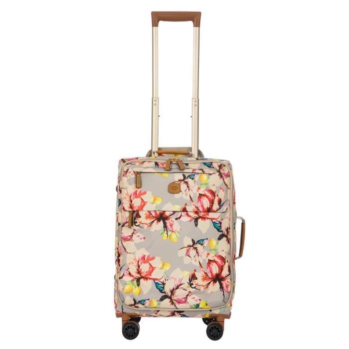 Brics βαλίτσα τροχήλατη καμπίνας 37x55x21cm σειρά X-Travel Floral