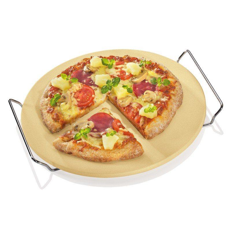 Kuchenprofi Πλάκα Ψησίματος για Πίτσα με Βάση & Χερούλι Φ30cm