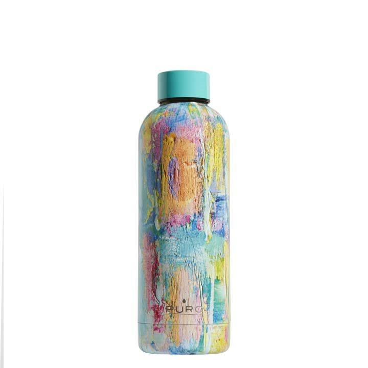 Puro Hot Cold Paint Bottle 500ml Γαλάζιο