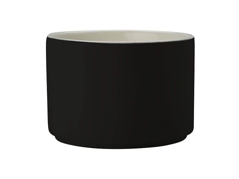 Maxwell & Williams Σκεύος Πυρίμαχο Στρογγυλό Μαύρο–Λευκό Πορσελάνη Epicurious 10cm