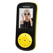 Sencor MP3/MP4 Player 8 GB με Ραδιόφωνο SFP 5870 BYL Μαύρο - Κίτρινο