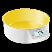 Sencor sks 4004yl (κίτρινο) ζυγαριά κουζίνας με αποσπώμενο μπολ
