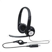 Logitech Ακουστικά Κεφαλής USB H390