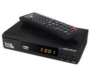 Δορυφορικός Αποκωδικοποιητής DVB-T/T2 για FULL HD Ανάλυση και Θύρες HDMI και USB, ESPERANZA EV104