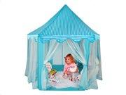Στρογγυλή Παιδική σκηνή Κάστρο Πριγκίπισσας, σε μπλε χρώμα,  135x140 cm