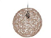 Στρογγυλό Διακοσμητικό Οροφής σε καφέ χρώμα, 33x33x32 cm