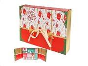 Aria Trade Εορταστικό Ημερολόγιο με 24 δώρα Beauty Advent Calendar, 33x6.5x25 cm