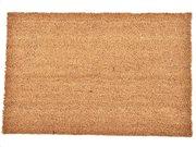 Πατάκι Χαλάκι εισόδου σε ανοιχτό καφέ χρώμα 40x60 cm, Coco