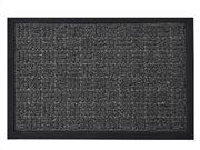Πατάκι Χαλάκι εισόδου με σχέδιο σε μαύρο χρώμα 40x60 cm, Yvan