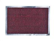 Πατάκι Χαλάκι εισόδου σε burgundy χρώμα με βάση από καουτσούκ 80x120 cm, Lisa