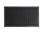 Πατάκι Χαλάκι εισόδου με γεωμετρικά σχέδια σε μαύρο χρώμα 45x75 cm, Geo