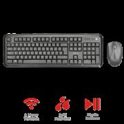 Trust Nova Wireless Keyboard & Mouse 23015 GR Deskjet