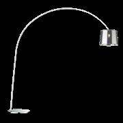 Ideal Lux Φωτιστικό Δαπέδου - Ορθοστάτης Μονόφωτο DORSALE PT1 CROMO 005126