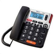 ΤΗΛ GCE 6266 TELCO BIG BUTTON ΜΕ CALLER ID ΜΑΥΡΟ