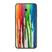 Θήκη TPU inos Samsung J415F Galaxy J4 Plus (2018) Art Theme Vertical Watercolor