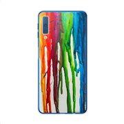 Θήκη TPU inos Samsung A750F Galaxy A7 (2018) Art Theme Vertical Watercolor