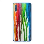 Θήκη TPU inos Samsung A705F Galaxy A70 Art Theme Vertical Watercolor