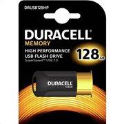 USB 3.1 Flash Disk Duracell High Performance 128GB Μαύρο-Χρυσό