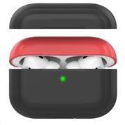 Θήκη Σιλικόνης AhaStyle PT-P2 Apple AirPods Pro DuoTone Μαύρο-Κόκκινο