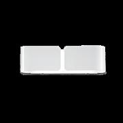 Ideal Lux Φωτιστικό Τοίχου - Απλίκα Πολύφωτο CLIP AP2 SMALL BIANCO 014166